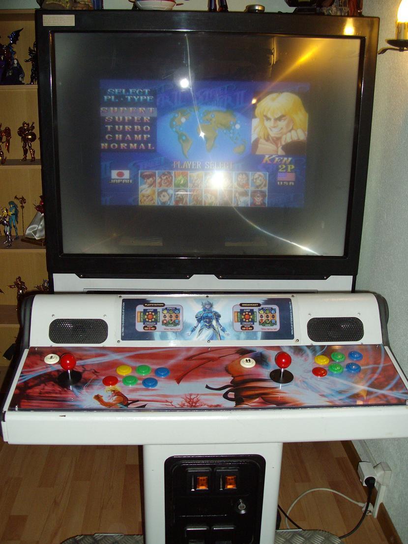 MY THIRD ARCADE MACHINE : MULTI-CONSOLE SYSTEM (PS2-DREAMCAST-NEOGEO)