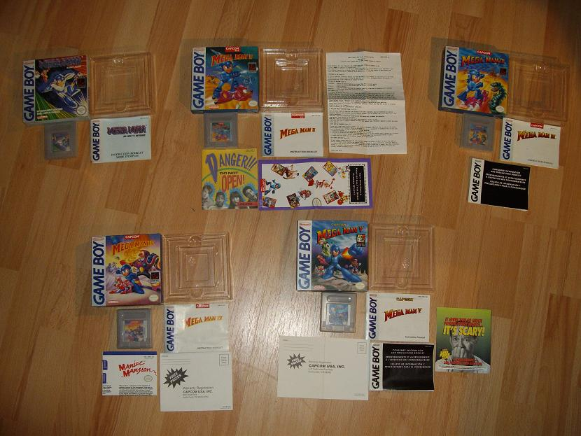 COLLECTION MEGAMAN COMPLETE SUR GAMEBOY Collect15