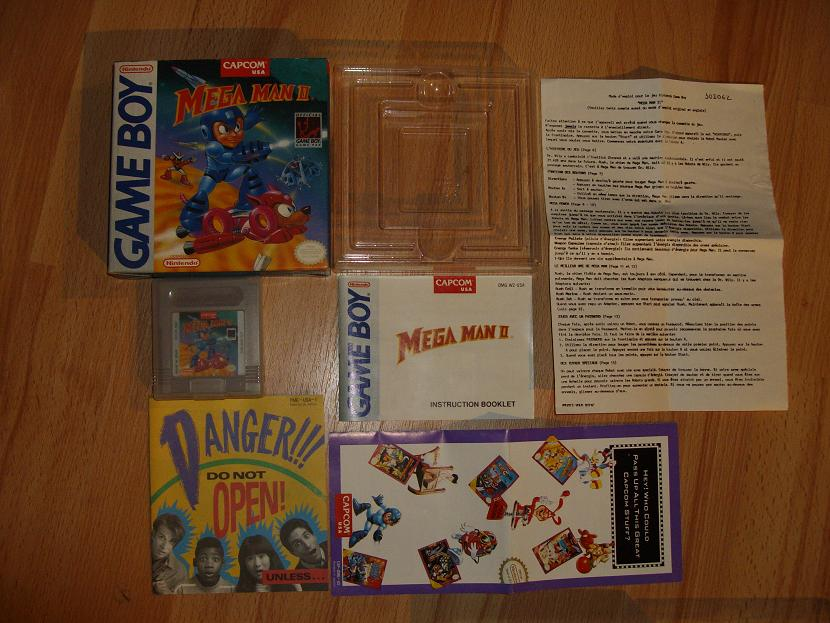 COLLECTION MEGAMAN COMPLETE SUR GAMEBOY Collect17