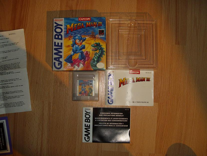 COLLECTION MEGAMAN COMPLETE SUR GAMEBOY Collect18