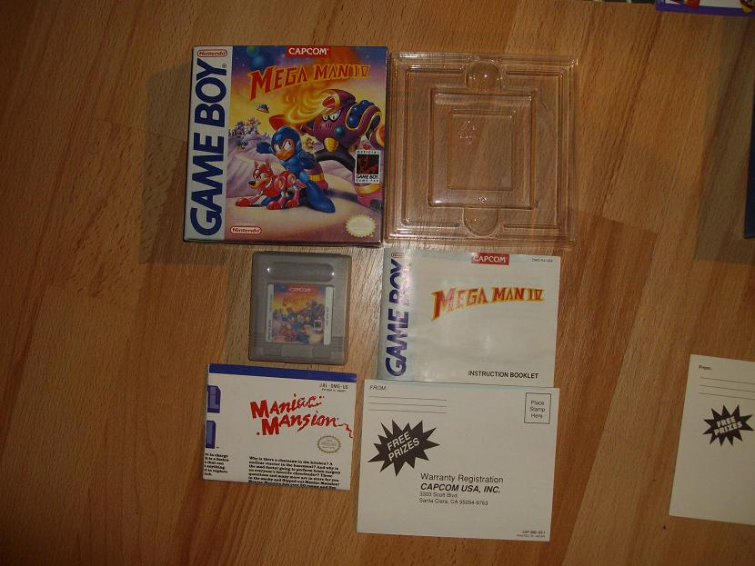 COLLECTION MEGAMAN COMPLETE SUR GAMEBOY Collect19