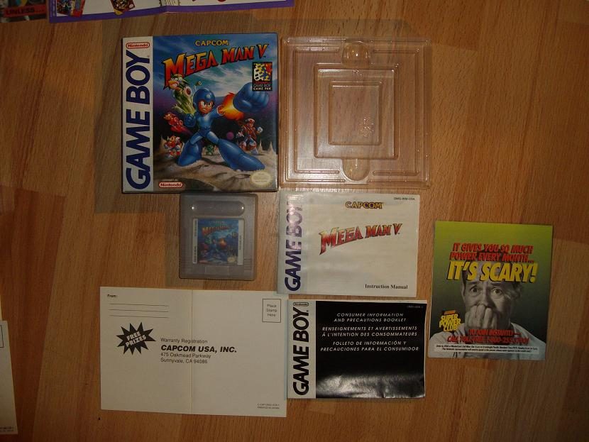 COLLECTION MEGAMAN COMPLETE SUR GAMEBOY Collect20