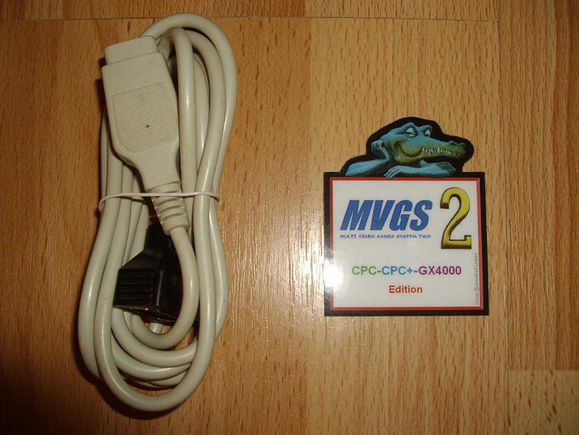 ADAPTATEUR MVGS2-AMSTRADCPC-GX4000-EDITION