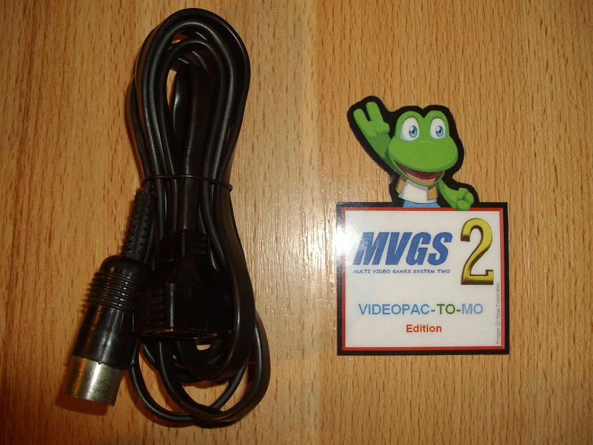 ADAPTATEUR MVGS2-VIDEOPAC-TO-MO-EDITION