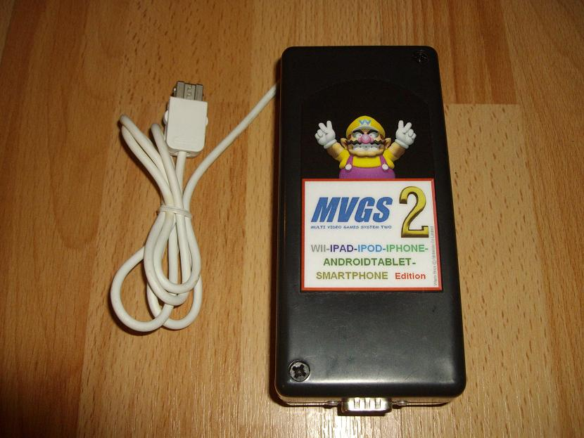 ADAPTATEUR MVGS2-WII-EDITION