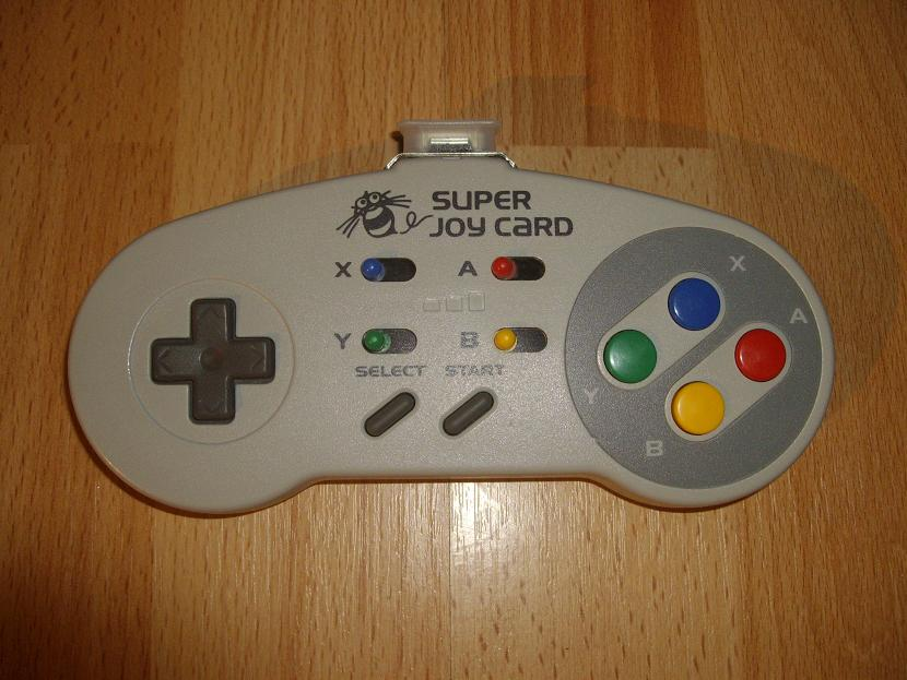 MANETTE DE JEU UNIVERSELLE MVGS2 HUDSON SUPER FAMICOM SUPER JOY CARD MODEL HC-691 ( UNIVERSAL RETROGAMING GAME PAD - UNIVERSAL RETRO CONTROLLER )