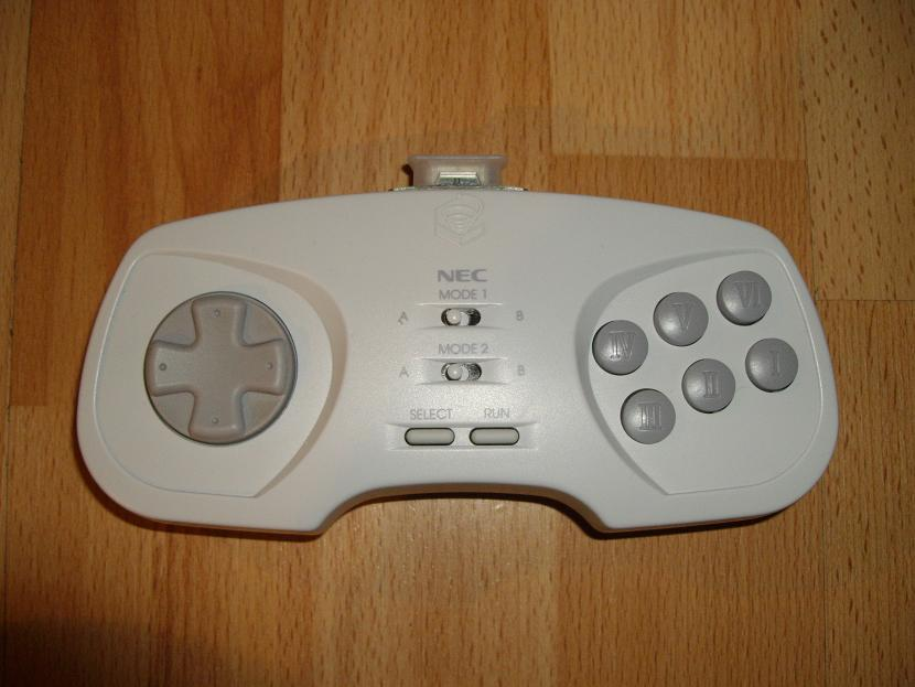 MANETTE DE JEU UNIVERSELLE MVGS2 NEC PC-FX FX-PAD MODEL 1 ( UNIVERSAL RETROGAMING GAME PAD - UNIVERSAL RETRO CONTROLLER )