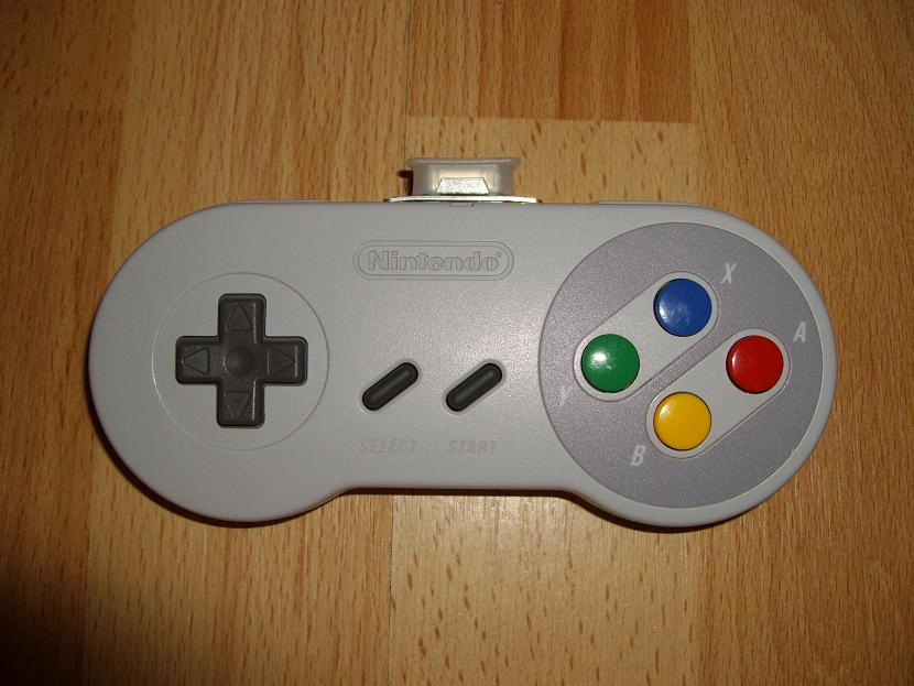 MANETTE DE JEU UNIVERSELLE MVGS2 NINTENDO SUPER FAMICOM JUNIOR MODEL SNS-102 ( UNIVERSAL RETROGAMING GAME PAD - UNIVERSAL RETRO CONTROLLER )