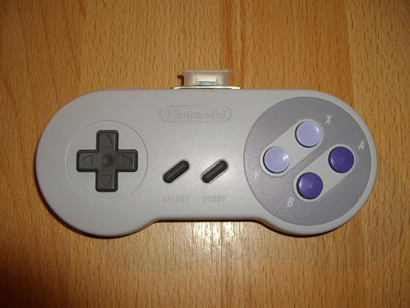 MANETTE DE JEU UNIVERSELLE MVGS2 NINTENDO SUPER NES JUNIOR US MODEL SNS-102 ( UNIVERSAL RETROGAMING GAME PAD - UNIVERSAL RETRO CONTROLLER )
