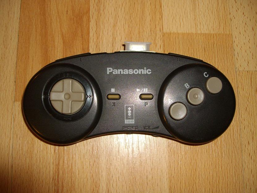 MANETTE DE JEU UNIVERSELLE MVGS2 PANASONIC 3DO MODEL FZ-JP1 ( UNIVERSAL RETROGAMING GAME PAD - UNIVERSAL RETRO CONTROLLER )