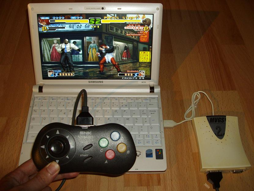 CONTROLLER PAD NEO-GEO CD UNIVERSEL