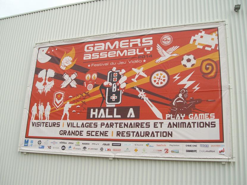 AFFICHE GAMERS ASSEMBLY 2014