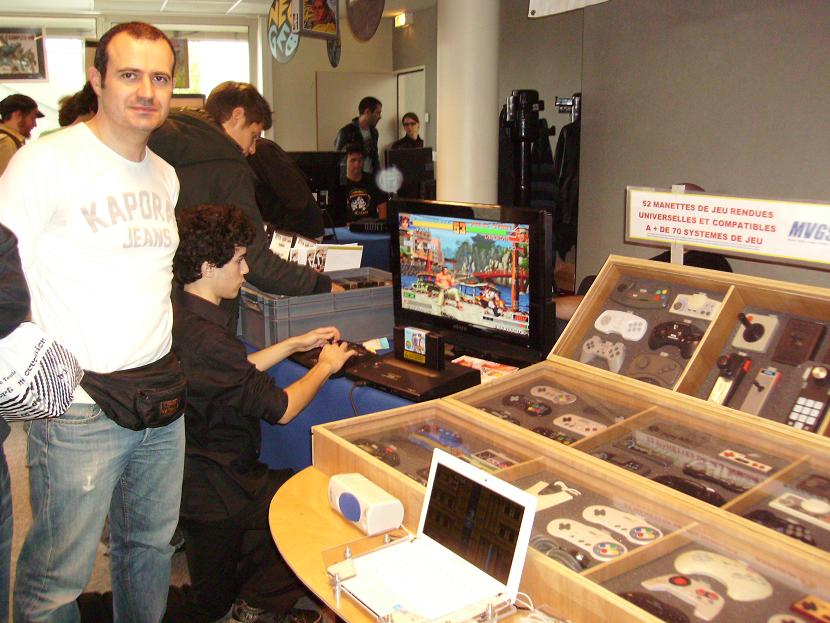 EMPLACEMENT STAND MVGS2 AU TGS 2011