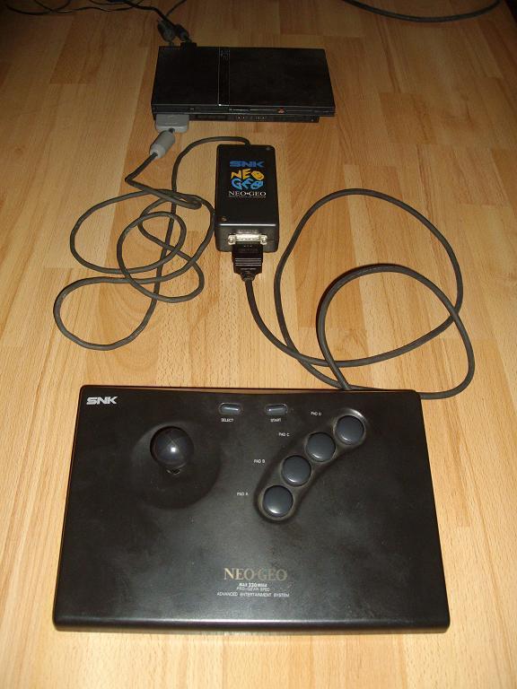 make a neogeo aes joystick adapter to psx/ps2 neo geo arcade stick wiring diagram 1991 geo prizm stereo wiring diagram #8